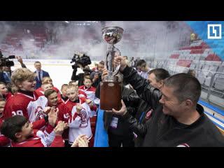 Игра по-взрослому! Российские хоккеисты взяли международный трофей
