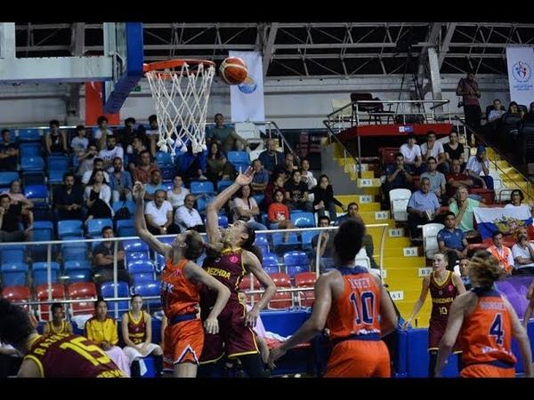 Nayo Nadezhda Highlights vs Cukurova Basketbol