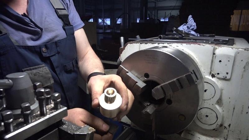 Сантехнический эксцентрик 18 мм в 3 х кулачковом патроне