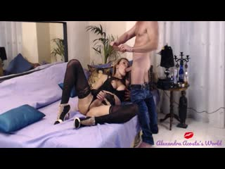 Shemale in lingerie fucking and sucking until she comes !(000008.314-001139.170)