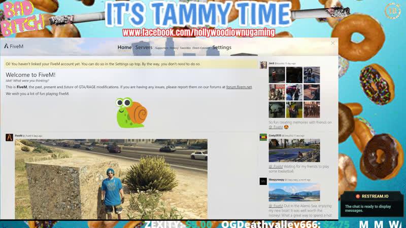 TAMMY TIME RP WHITE RHINO SERVER GTA5