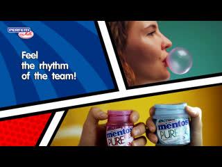 Feel the rhythm of the team!