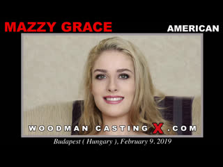 [WoodmanCastingX] Mazzy Grace Mazzy Grace - American Casting New full version Anal, All Sex, Blowjob, POV, Casting