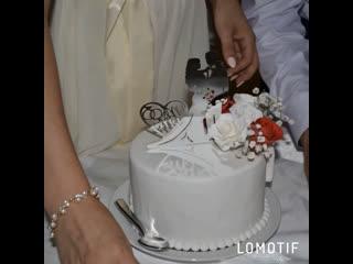 Свадебный торт для прекрасной пары