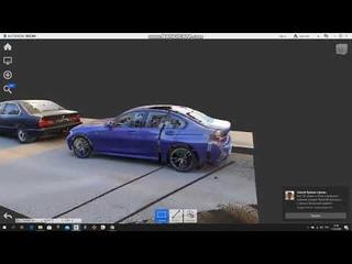 геодезическое наземное лазерное сканирование автомобиля 222