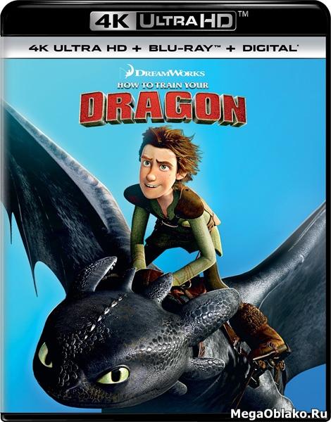 Как приручить дракона / How to Train Your Dragon (2010) | UltraHD 4K 2160p