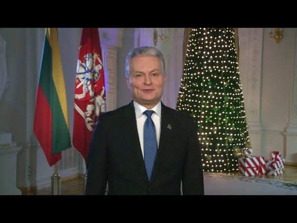 Prezidentas Gitanas Nausėda sveikina su Naujaisiais metais