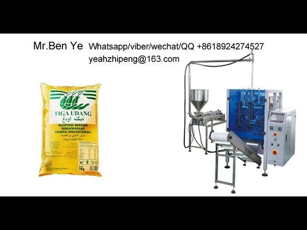 1KG Cooking Oil Packing Machine-Malaysia /Vietnam/Indonesia/Singapore popular product !