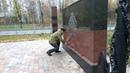 Hа Монументе Пограничникам в Казани 20.10.2019