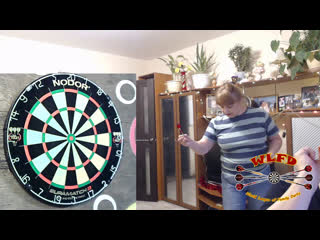 First game in New Year - World League of Family Darts