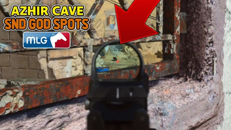SnD GOD SPOTS on AZHIR CAVE! (COD MW Best Competitive SnD Plant Spots) Call of Duty Modern Warfare