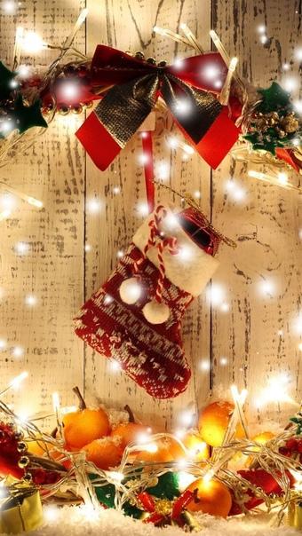 Новогодние Обои На Телефон Вертикальные Качественные