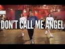 ARIANA GRANDE, MILEY CYRUS, LANA DEL REY - Don't Call Me Angel   Kyle Hanagami Choreography