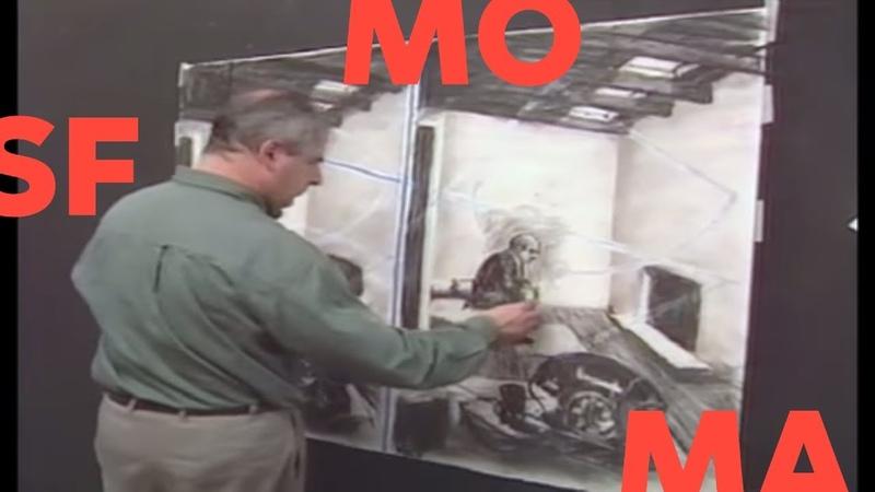 William Kentridge transformation with animation