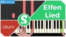 How to play LILIUM from Elfen Lied Smart Game Piano Video Game Music