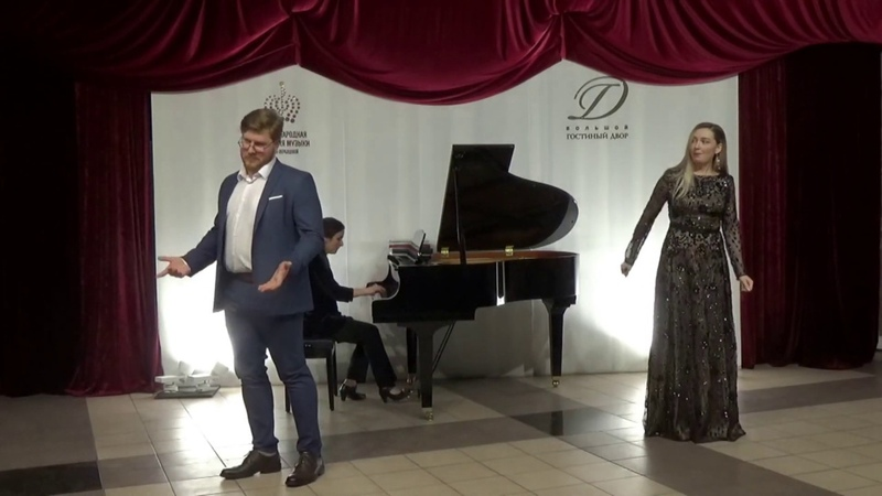 Дуэт Церлины и Дон Жуана из оперы Дон Жуан, В.А. Моцарт (исп. С. Кайдалов и А. Гузь).
