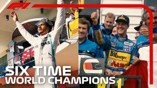 Lewis Hamilton And Michael Schumacher: Six Time World Champions