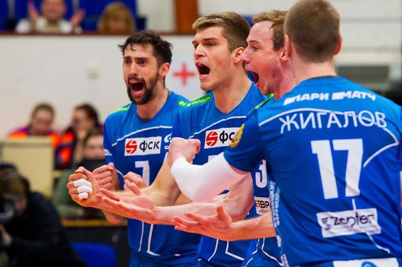 Волейболисты столичного «Динамо» одержали новую победу
