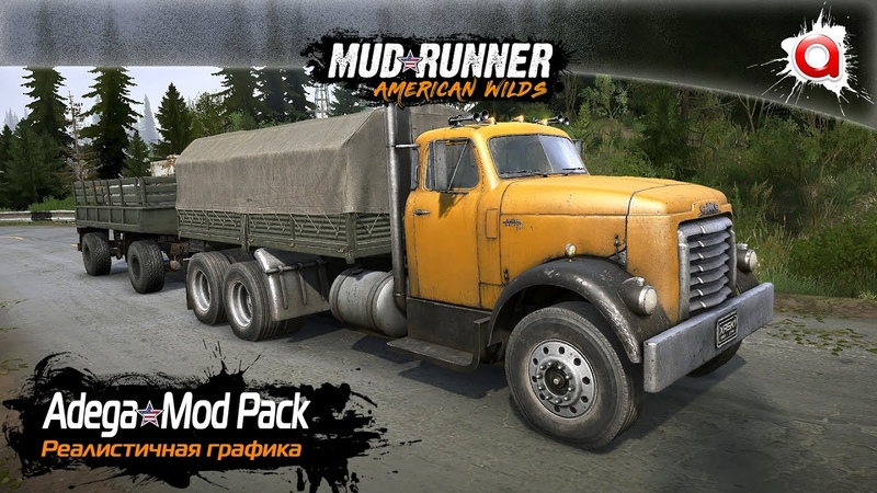 Установка Adega Mod Pack MudRunner и SpinTiresMod