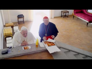 The two popes - official trailer - netflix