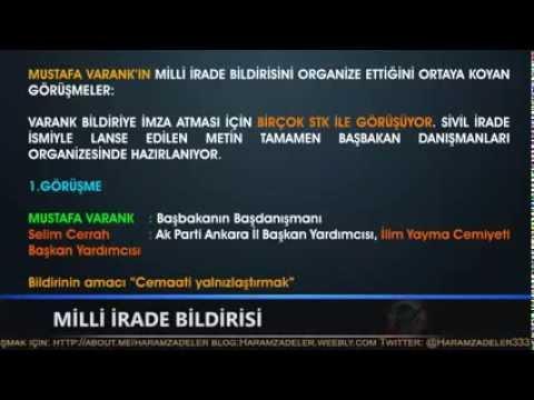 Milli İrade Bildirisi Erdoğan Baskısıyla Cemaat ve STKlara Zorla İmzalatıldı 1