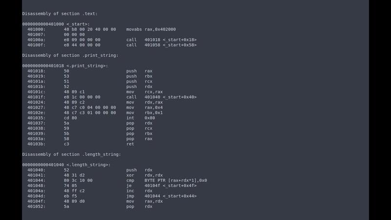 Язык Ассемблера 3 [FASM, Linux, x86-64]
