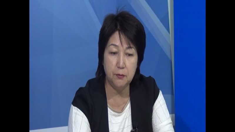 Түркістан ақпарат Сырлы сұхбат хабарында қонақта Егембердиева Ғазиза 27 11 2019