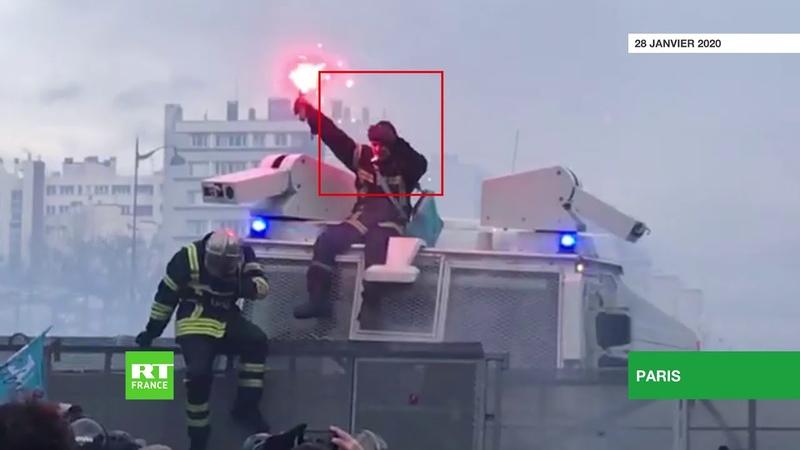 Tirer sur le pompier