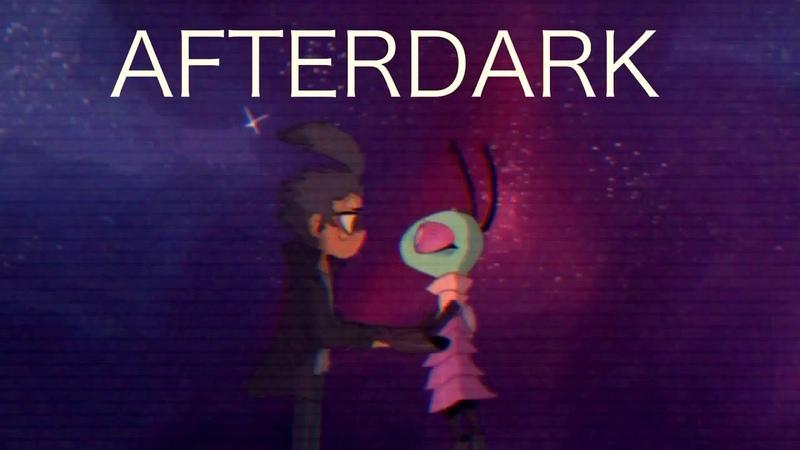 After dark meme (invader zim)