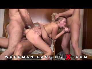 [pornoworld] woodman casting x - nikky dream выебана тремя мужиками на кастинге (anal, blowjob, group, hardcore, casting)
