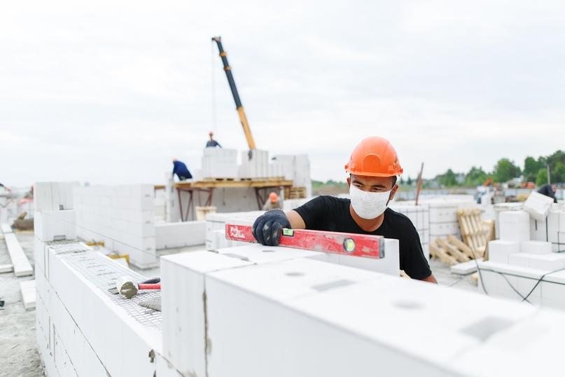Отчет о ходе строительства квартал «Среда» май 2020, изображение №26