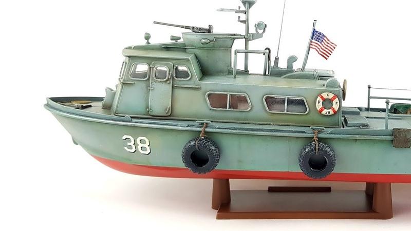 1 48 US Navy Swift Boat RevellTime lapse build video