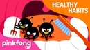 Brush Your Teeth | Tooth Brush Song | Healthy Habits