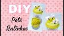 (DIY) Pote para Queijo Ralado - Pote Ratinhos - Maratona de Potes 1