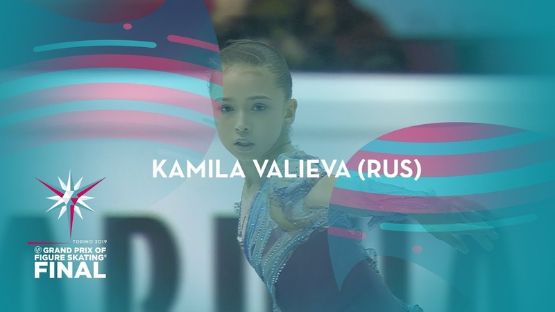 Kamila Valieva RUS Ladies Free Skating ISU GP Finals 2019 Turin JGPFigure