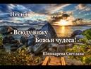 Рано утром, лишь открыв глаза... Песня, Шинкарева Светлана..Всюду вижу Божьи чудеса