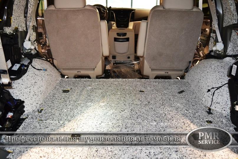 Шумоизоляция Cadillac Escalade ESV, изображение №9