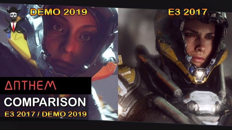 ANTHEM GAME E3 2017 DOWNGRADED vs DEMO 2019 PC PS4 Pro Comparison and Downgrade 2019