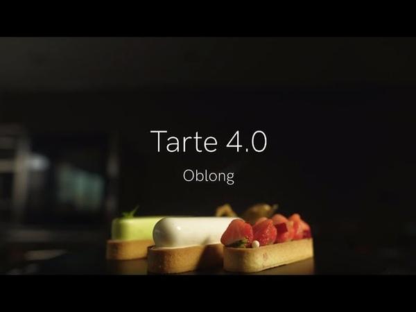 Кольцо для тарт перфорированное Овал арт TARTE RING OBLONG 146х35