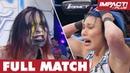 Rosemary vs Jade Monster s Ball FULL MATCH IMPACT Wrestling Full Matches