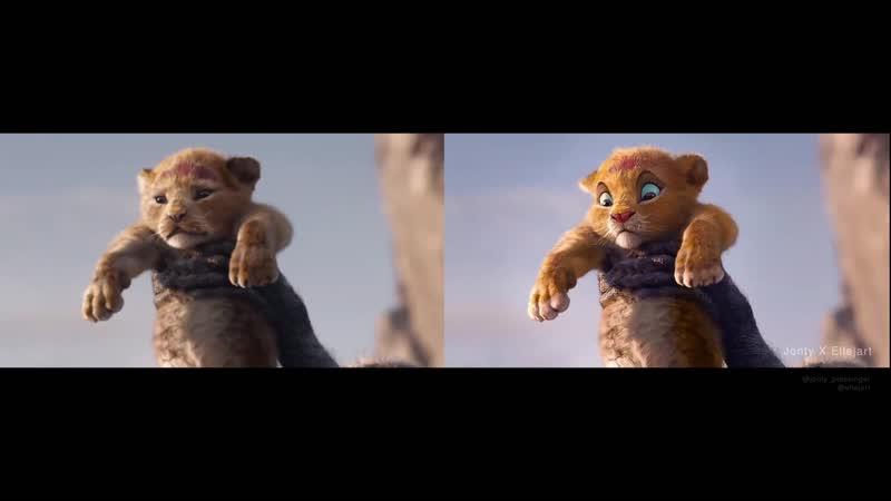 В трейлере фильма Король Лев заменили лица с помощью нейросети DeepFake