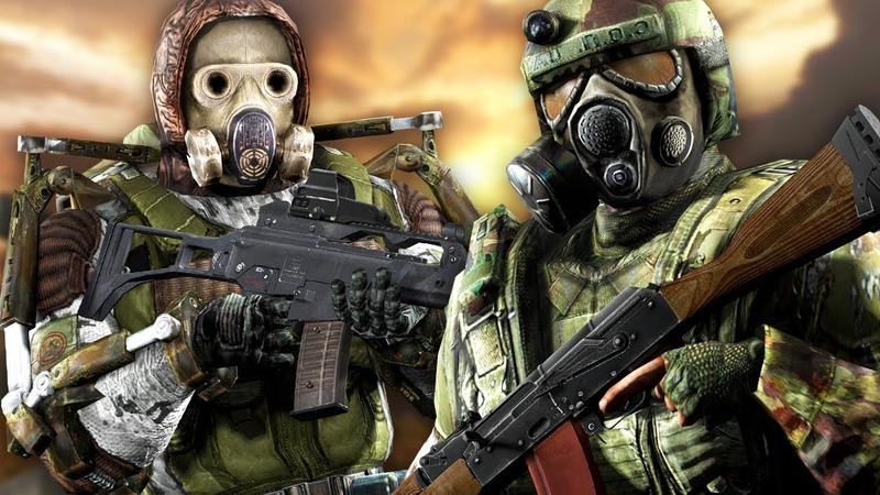 МОНОЛИТ VS ВОЕННЫЕ STALKER Call of Chernobyl КОРОЛЕВСКАЯ БИТВА 3