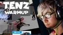Cloud9 TenZ 🇨🇦 CS:GO Warmup (Fast Aim Reflex Training Aim Botz) 6 July 2019