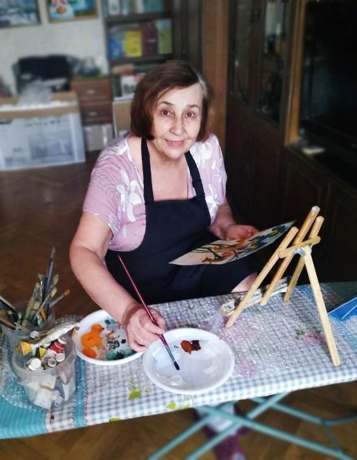 Жительница Рязанского района проводит время самоизоляции с пользой