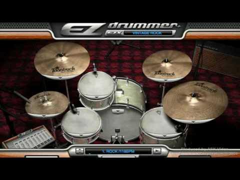 Vintage Rock EZX® (for EZdrummer) - Introduction