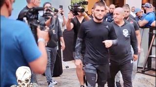 ХАБИБ перед боем с ПОРЬЕ на UFC 242 ВЛОГ 2