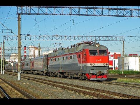 ZDSimulator cценарий пассажирского поезда №5 Украина Киев Москва часть 3