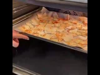 Домашние чипсы за 5 минут