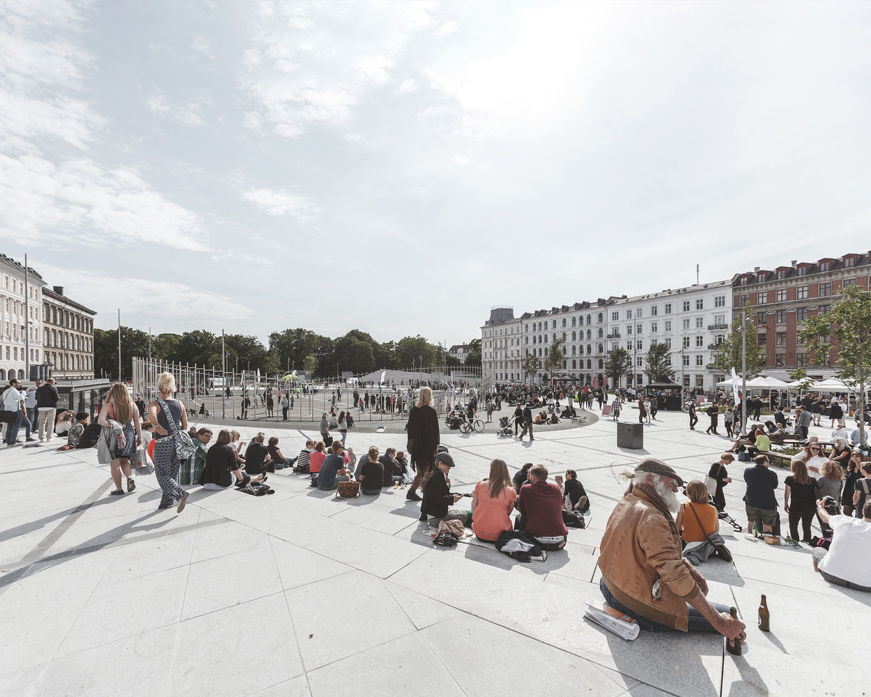Israels Plads Square / Sweco Architects   COBE