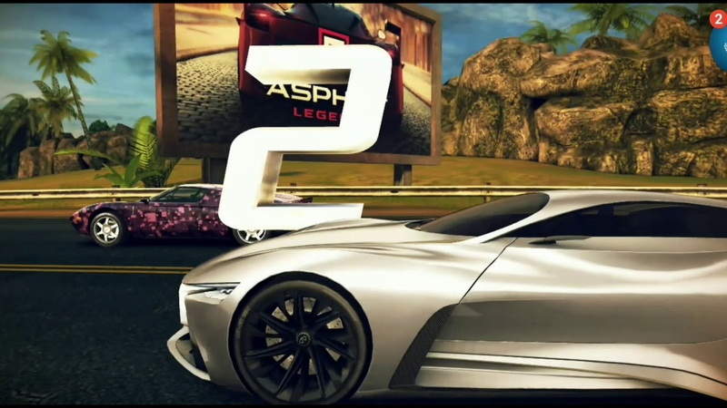 Asphalt 8 Engine Cup Infiniti Vision GT 56.661 (French Guiana)